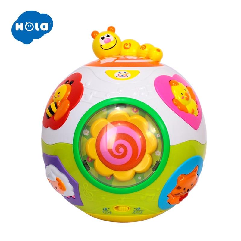 HOLA 938 bébé jouets enfant en bas âge ramper jouet avec musique et lumière enseigner forme/nombre/Animal enfants apprentissage précoce jouet éducatif cadeau - 4
