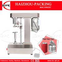 HZPK Semi-Automatique Fer Blanc Peut Machine de Cachetage Anneau-pull Peut Machine de Capsulage Pop-top Bouchon En Aluminium Sertisseuse Facile Bouteille Fermeture