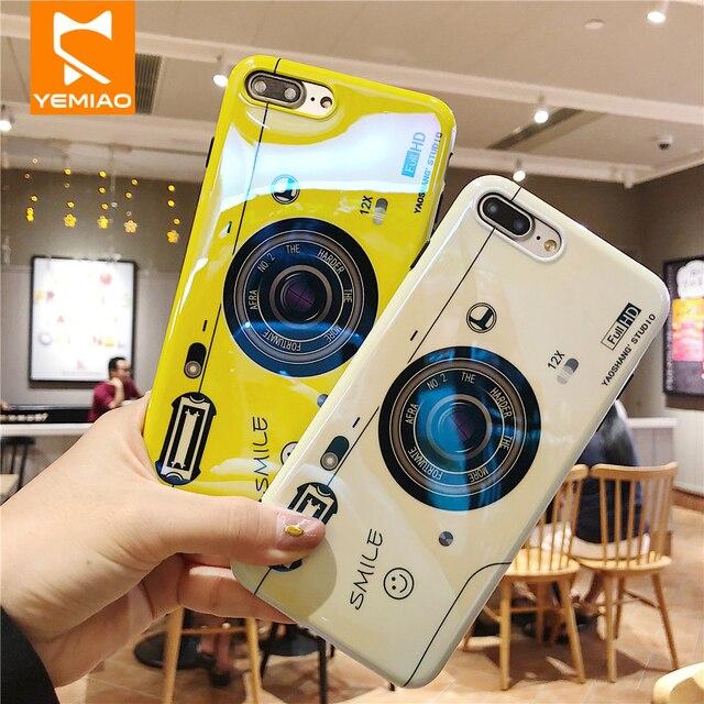 Blue Ray Caso de Telefone Para o iphone XS Max X 10 Câmera Titular Kickstand Silicone Caso Bonito Capa Para o iphone 6 7 8 6 S Plus Caso XR XS