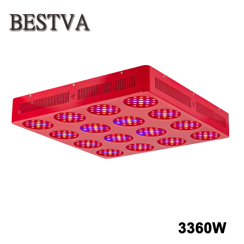 BESTVA 3360W led grow light Full Spectrum wide coverage for indoor plants growth houseplants greenhouse bloom hydroponics