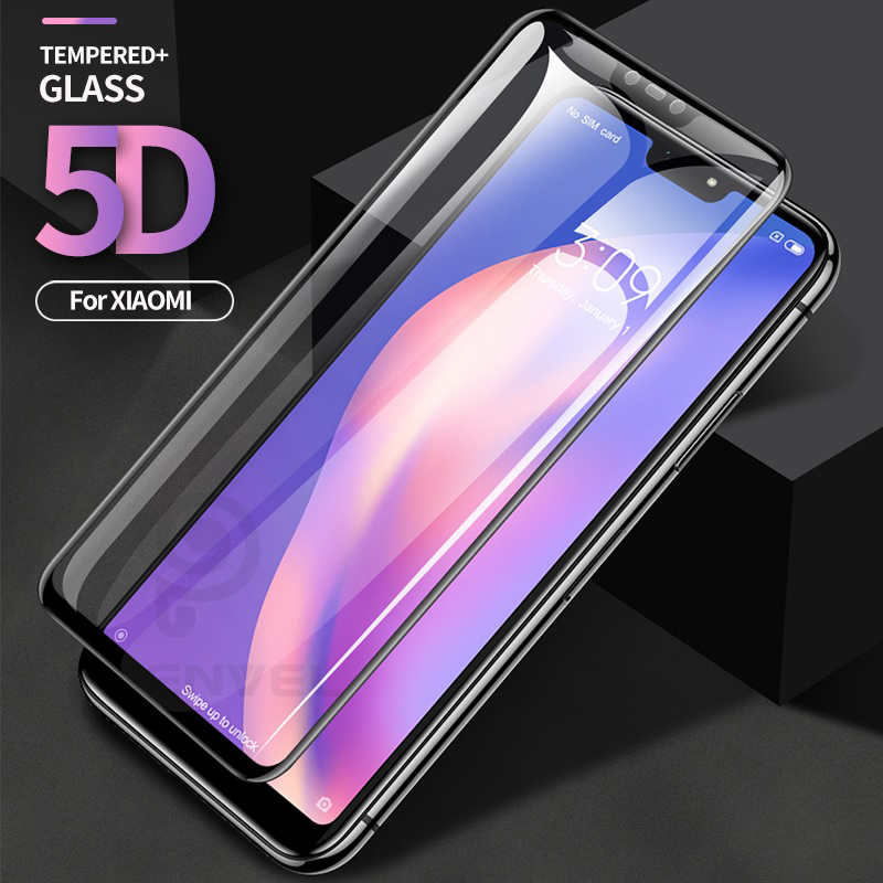 5D Protective Glass For Xiaomi Mi 8 A2 Lite Oleophobic Screen Protector For Mi A2 8 SE Anti-explosion Tempered Glass Film