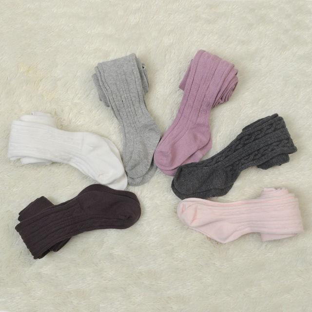 الطفل الوليد الرضع الاطفال الفتيات الجوارب القطن الدافئة جوارب طويلة جوارب ضيق 0-6Y 4