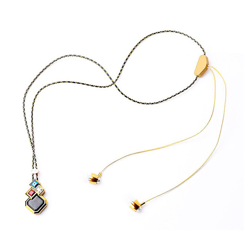 Bluetooth 4.1 Necklace Headphone Headset Stereo Handsfree ...
