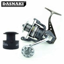 Fishing Reel Aluminium Alloy Spinning Fishing Reel SSG1000-7000 12BB+1 Left / Right Hand carretilhas de pesca Fly Fishing