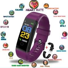 TWK Black Smart Watch Men Heart Rate Blood Pressure Wristband Fitness Tracker Bracelet Sport Watches Women for apple mi band 3