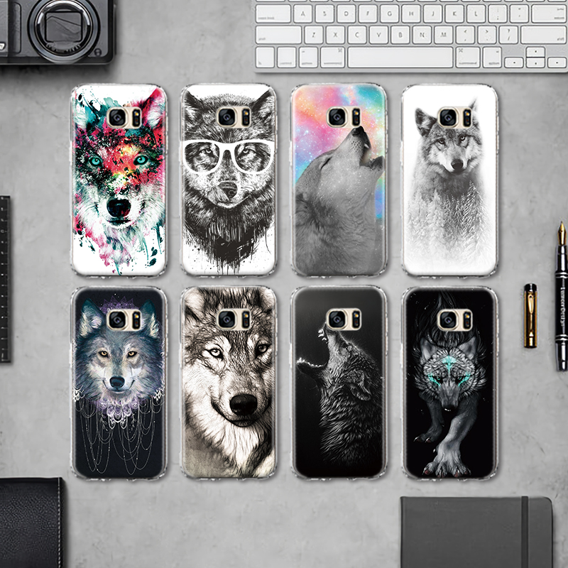 Phone Bags & Cases Cellphones & Telecommunications Cool Animal Panda Husky Puppy Cover For Samsung Galaxy S4 S5 Mini S6 S7 Edge S8 S9 Plus Grand Prime Note 4 5 8 Silicone Case
