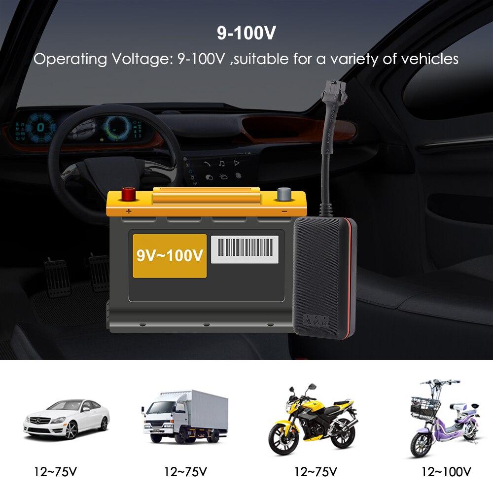 Mini Car Tracker Vehicle GPS Tracker TK108 2G GSM Tracker Cut Off Oil Power Vibration Alarm Relay Tracker Waterproof PK TK905 2