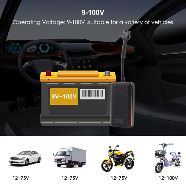 Mini Car Tracker Vehicle GPS Tracker TK108 2G GSM Tracker Cut Off Oil Power Vibration Alarm Relay Tracker Waterproof PK TK905 2