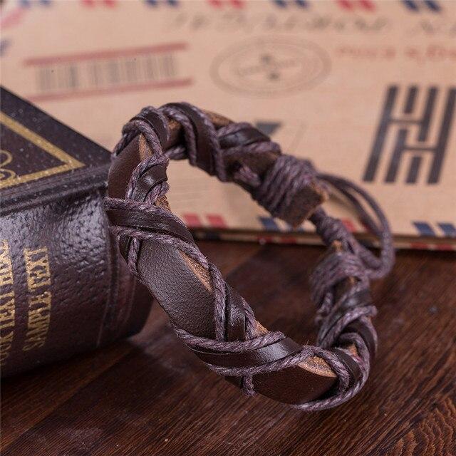Bracelet cuir viking SH30 4