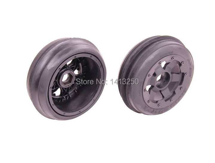 5B Front Sand Wheel Set(TS-H85046)x 2pcs for 1/5 Baja 5B, SS , wholesale and retail, free shipping 5b cnc metal wheel set ts h85129 for baja parts sliver and orange choose with free shipping