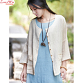 all-match sun-protective clothing simple collocation summer linen cardigan