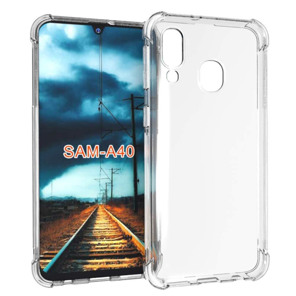 Slim Gel TPU Thin Soft Protective Clear Phone Case For Samsung Galaxy A40 Ultra