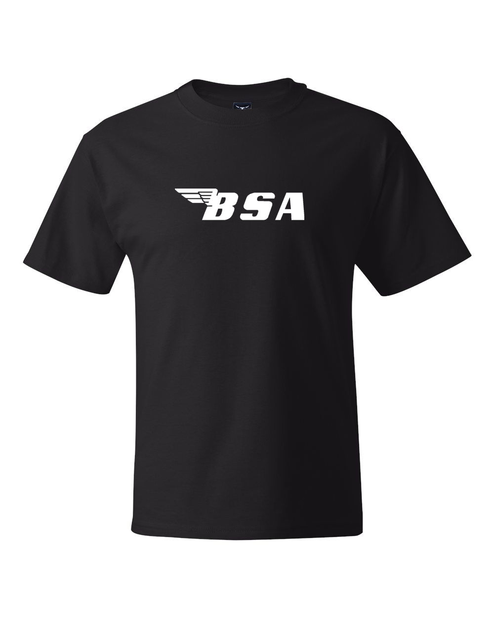 <font><b>Bsa</b></font> Logo Motorcycles Vintages <font><b>Shirts</b></font> 2019 New Fashion Brand Clothing Print Round Neck Man 3D Print T <font><b>Shirt</b></font> image