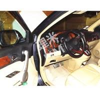 Peachwood Vein Type ABS Decoration Cover Car Sticker Suitable For Honda CRV 2007 2008 2009 2010