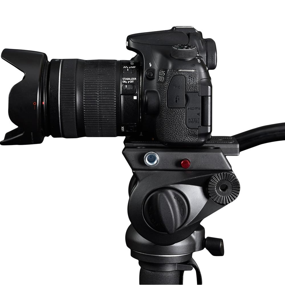 miliboo MTT705B Tripod Serat Carbon Portable & Monopod untuk Stand - Kamera dan foto - Foto 3