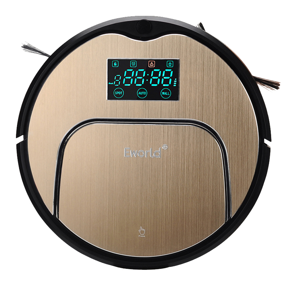 (Shiping from RUS) Robot Vacuum Cleaner Home Household 600Pa Suction Sweep Machine for Pet hair Anti Collision Self Charging