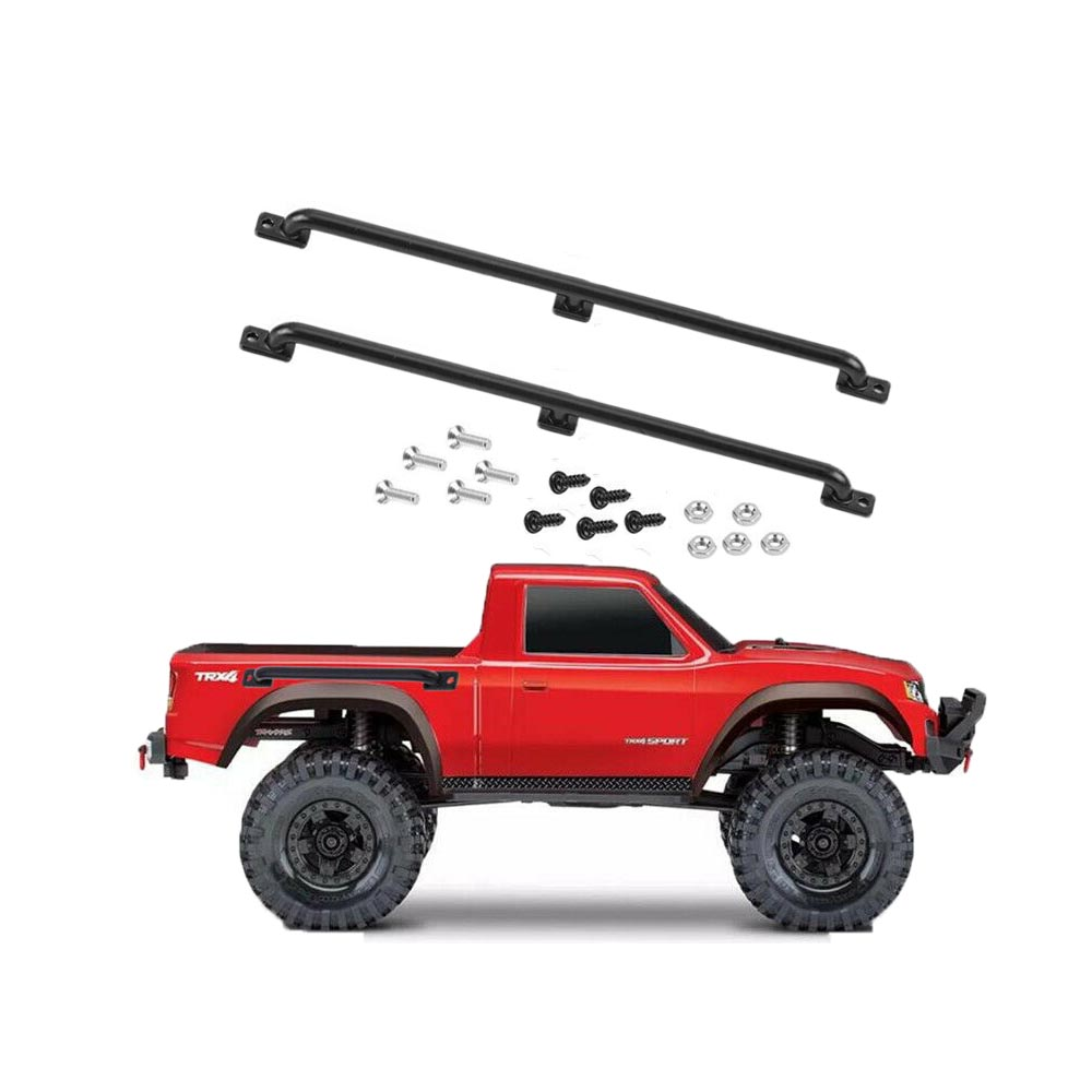 2pcs RC Crawler Metal Antenna for Traxxas TRX-4 RC Climbing Car Accessories