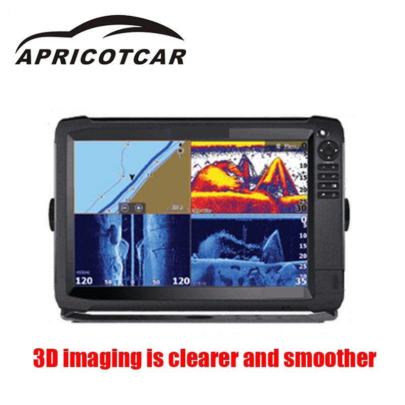 APPICOTCAR Marine GPS écran tactile poisson Finder 3D Radar imagerie sauvetage sauvetage Sonar Navigation graphique dessin sauvetage naufrage
