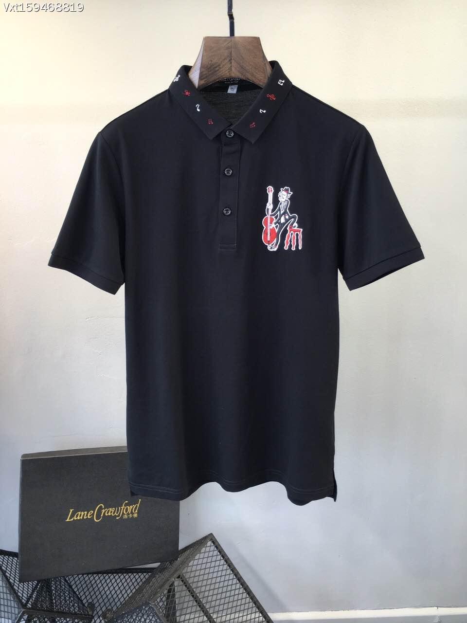 2015 new real camisa solid polo shirt mens fashion cool design short - Bh B6825 Fashion Men S Tops Tees 2017 Summer Hot Sale Fashion Design Short Solid Party Style Polo Shirts Men S Clothing