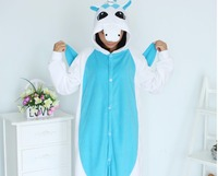 Unicorn Onesie Blue Pajamas Polar Fleece Skeleton Cheshire Cat Animal Pajamas Adult Cartoon Kiguruma Onesies Cosplay