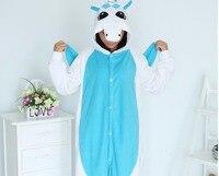 Unicorn Onesie Blue Pajamas Polar Fleece Skeleton Cheshire Cat Animal Pajamas Adult Cartoon Kiguruma Onesies Cosplay