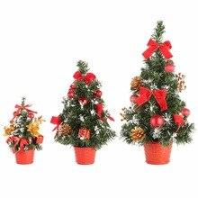 92425574112 2018 1 piezas Mini árboles de Navidad decoraciones de Navidad un pequeño  árbol de pino colocado en el escritorio hogar Festival .