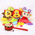 Baby Soft Appease Calm Doll Towel Playmate Teether Developmental Toy Lion Bear
