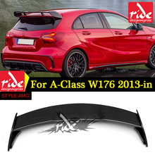 suitable W176 carbon fiber painted sports Car rear Spoiler For A-CLASS A180/A200/A250 A45 AMG 2013-2018 Rear trunk spoiler Wing