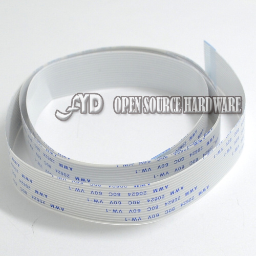 AR101050cm 500mm FFC Cable 15 pins 1 0mm pitch Flat Ribbon Flex 15p for font b