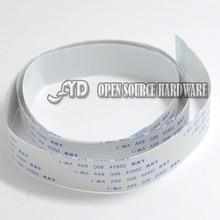 AR101050cm 500mm FFC Cable 15 pins 1 0mm pitch Flat Ribbon Flex 15p for font b