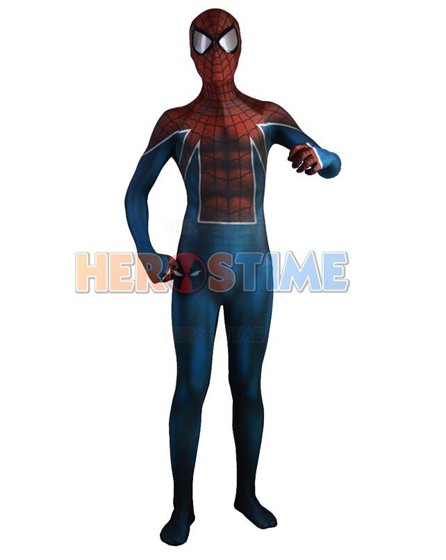 Sn923 Spider Uk Costume Lycra Spandex Spider Uk Fullbody Suit Halloween Party -3288