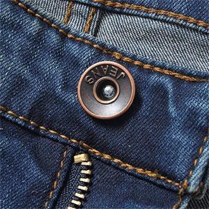 Image 5 - משלוח חינם גברים של באיכות גבוהה עסקי מזדמן אתחול לחתוך ג ינס אמצע מותניים אבוקות התלקח חצי תחתון מכנסיים בתוספת גודל 27 38