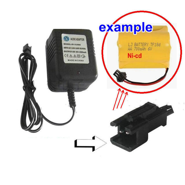 Aliexpress.com : Buy 6V 250mA Ni cd Battery Charger for RC