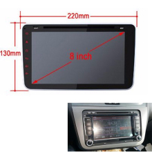 2 din Car Radio Fascia for SEAT Altea stereo face plate frame panel dash mount kit adapter trim Bezel fascia mount kit
