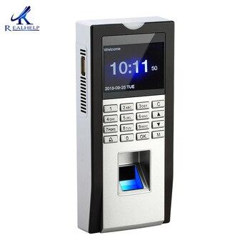 Офисная биометрическая машина для посещения, считыватель отпечатков пальцев, RFID-карта, контроль доступа к двери, системы безопасности, пост...