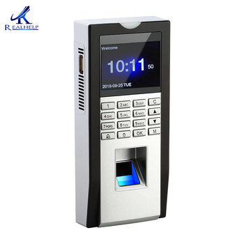 Biuro biometryczna maszyna obsługująca czytnik linii papilarnych karta RFID kontrola dostępu do drzwi System bezpieczeństwa dostawcy czas drzwi wejściowe tanie i dobre opinie Realhelp KF11 2000 1000 100 000 Simple access control function ID card can work as a reade WG26 output The standard 125K HZ RFID