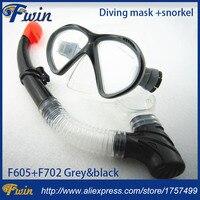 Yüzme Dalış Koruyucu Gözlüğü Solunum Tüpü Unisex Dalış Maskesi Seti