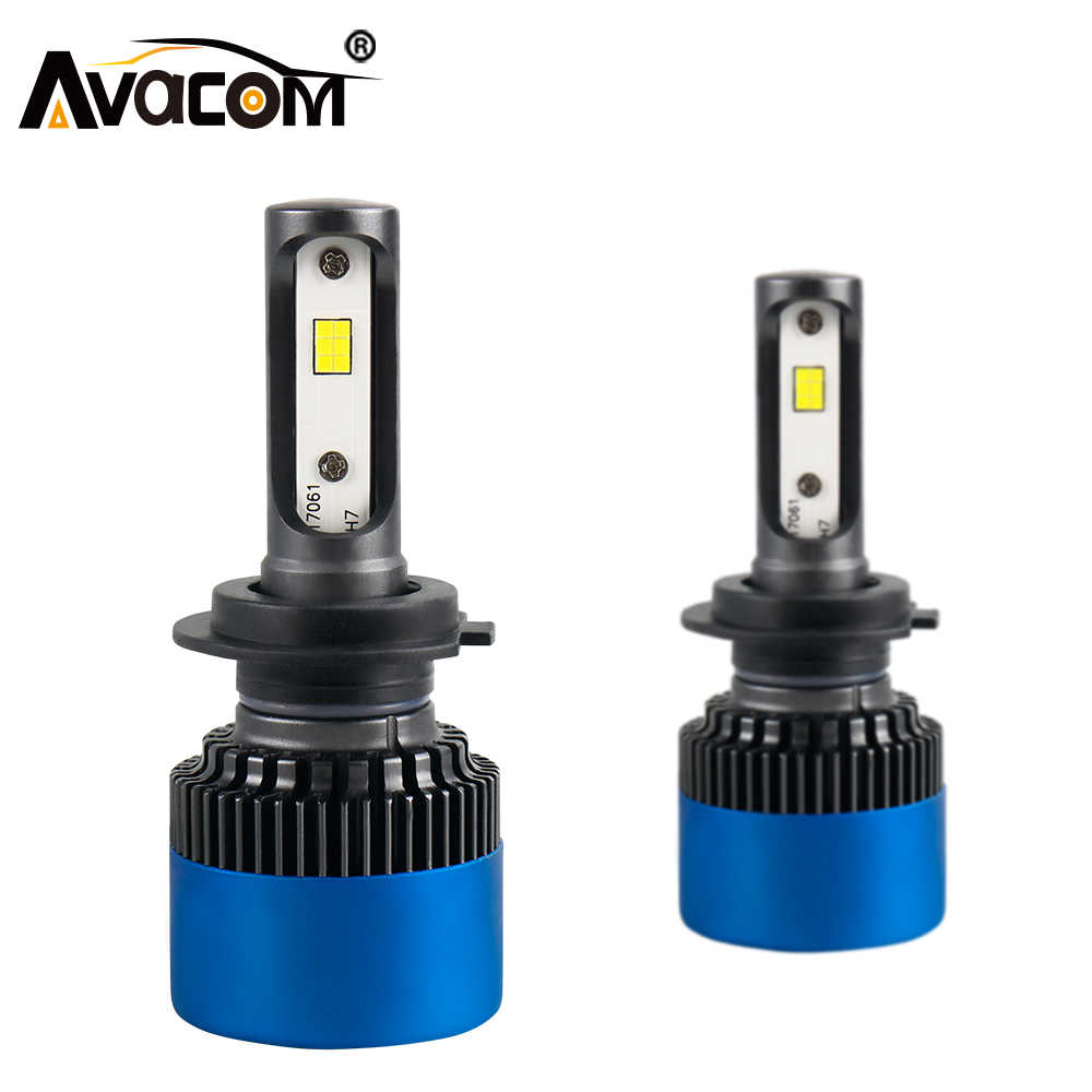 LED H7 12V 12000Lm LED Car Headlights H1 H11 LED Auto Lamp H8 Hir2 9004 HB3 9005 9006 HB4 80W CSP 6500K 24V H3 H4 LED Car Bulb