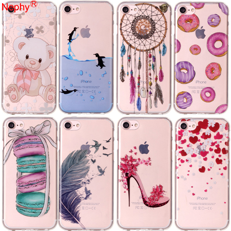 Soft Cell Phone Casing For iPhone XS Max Unique Case X XR 10 Coque iPhone 7