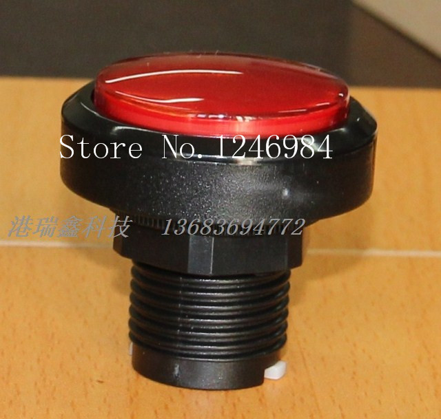 [SA]Video game console accessories button red round button to the mainframe computer switch button--20pcs/lot