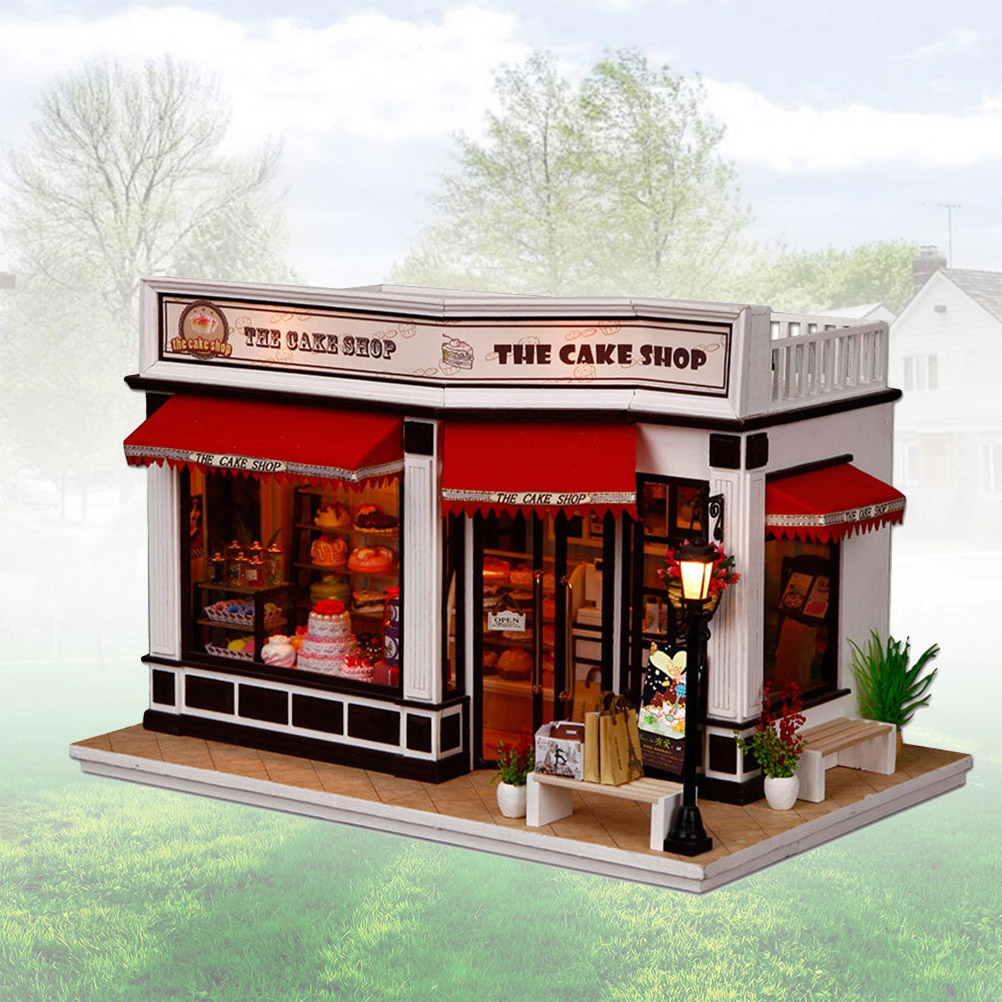 Cutebee Paris Baguette DIY Dollhouse