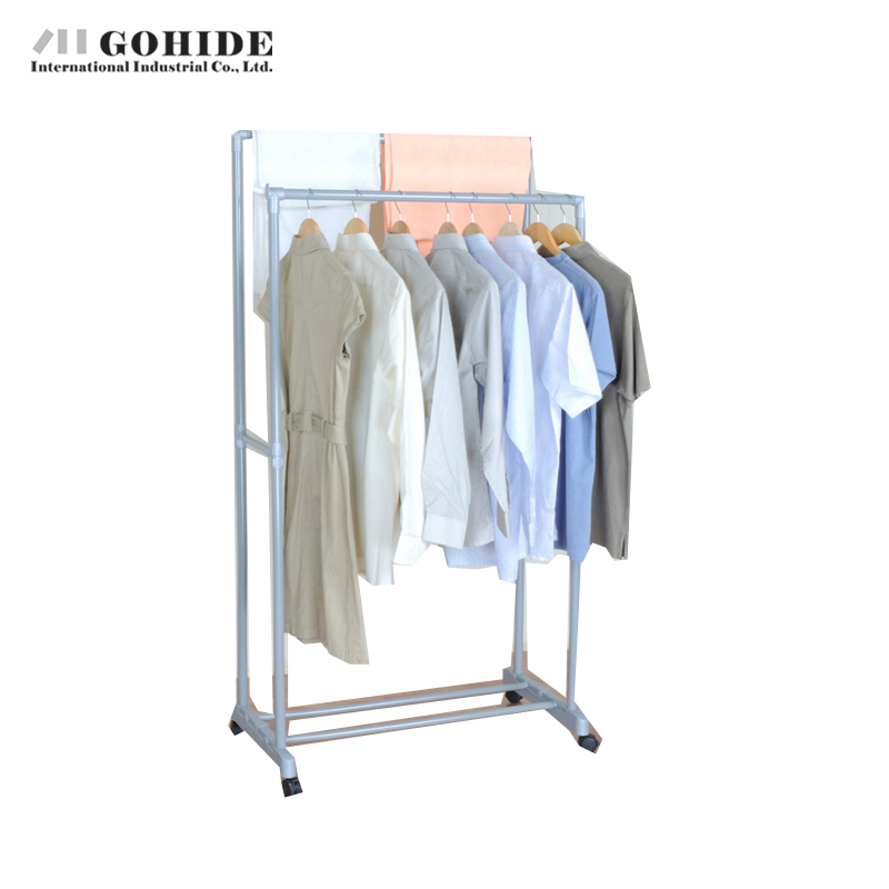 Gohide 2016 New Arrival Modern Floor Coat Rack Multi-Functional Racks Drying Rack Yj90-2 Coat Racks Living Room Furniture