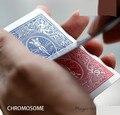 Cromosoma (Gimmick + instrucciones En Línea)-Truco de Magia, el Efecto de 52 Shades of Red V2, Calle magia, magia de cerca, Mentalismo, Ilusión