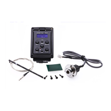 ROCKET  Acoustic Guitar 4-Band EQ Equalizer Preamp Piezo Pickup Tuner with LCD Display-Support Wholesale+Free Shipping
