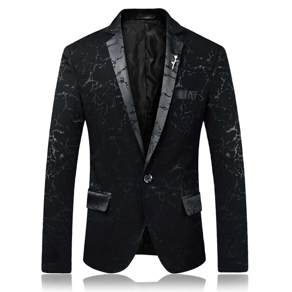 高級パーティーウェディングブレザードレスディナー結婚式付添人の正式な英国スタイルスリムフィットのスーツのコートジャケット黒、青、赤