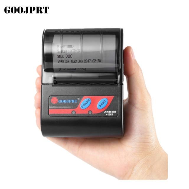 Envío Gratis barato 58mm impresora de recibos Bluetooth Mini impresora de recibos térmicos para Samsung Android Smartphone