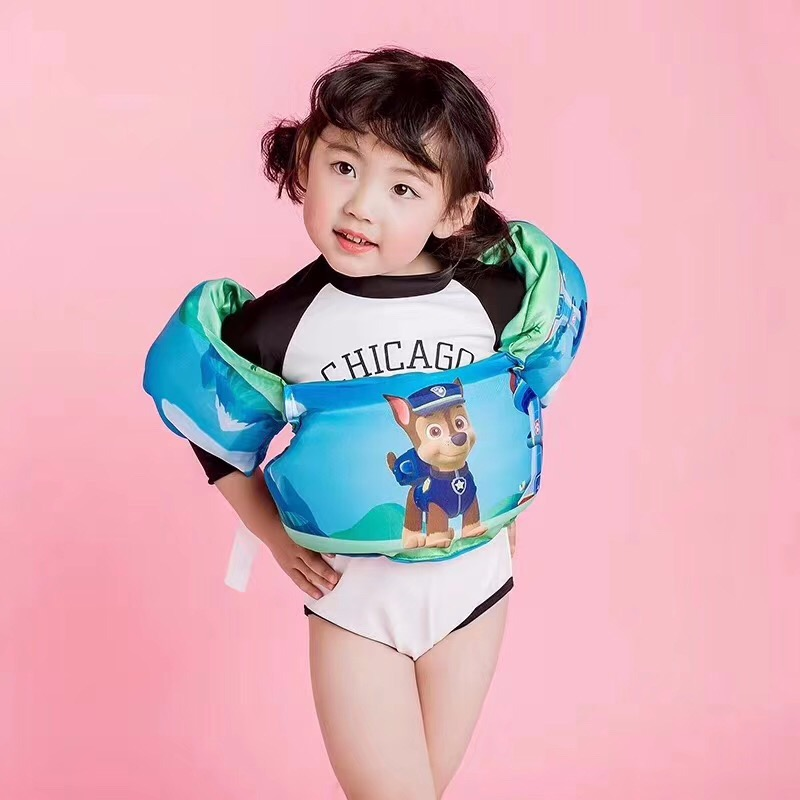 2 7 Year Old Child Swim Vest Cartoon Swim Pool Swimming Arm