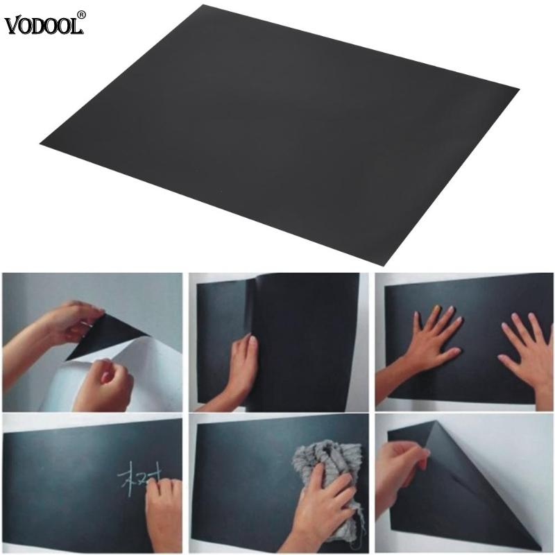 VODOOL 8pcs A4 30*20cm Blackboard Wall Stickers Removable Self-adhesive Decals Home Message Chalkboard Office Schook Supplies