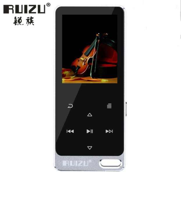 Оригинальный RUIZU X19/X05S все металлические Сенсорный экран Hi-Fi MP3 плеер Встроенный динамик 8 GB цифровой MP3 музыкального проигрывателя.