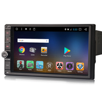 Android 7 1 Double 2 Din Car GPS Navigation Bluetooth USB SD Player Sat Nav DAB